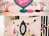 Barbie Birthday Party Beauty Station