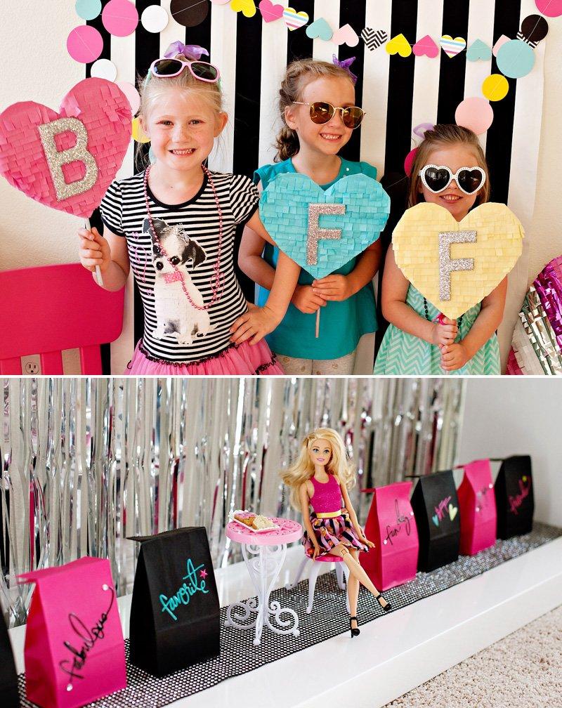 Barbie Birthday Photo Booth