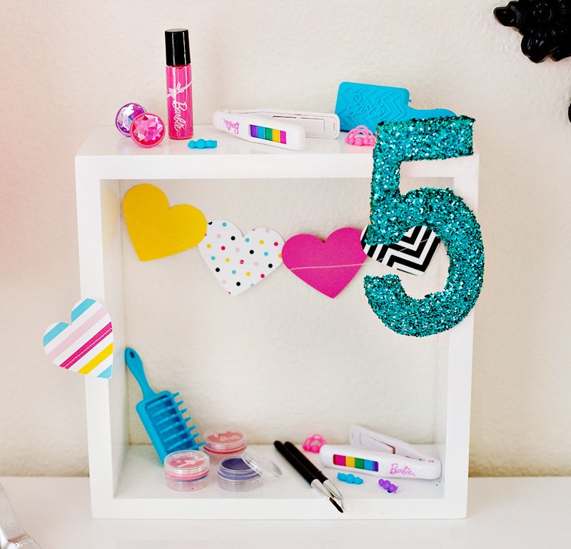 Barbie Party Beauty Station Decoration