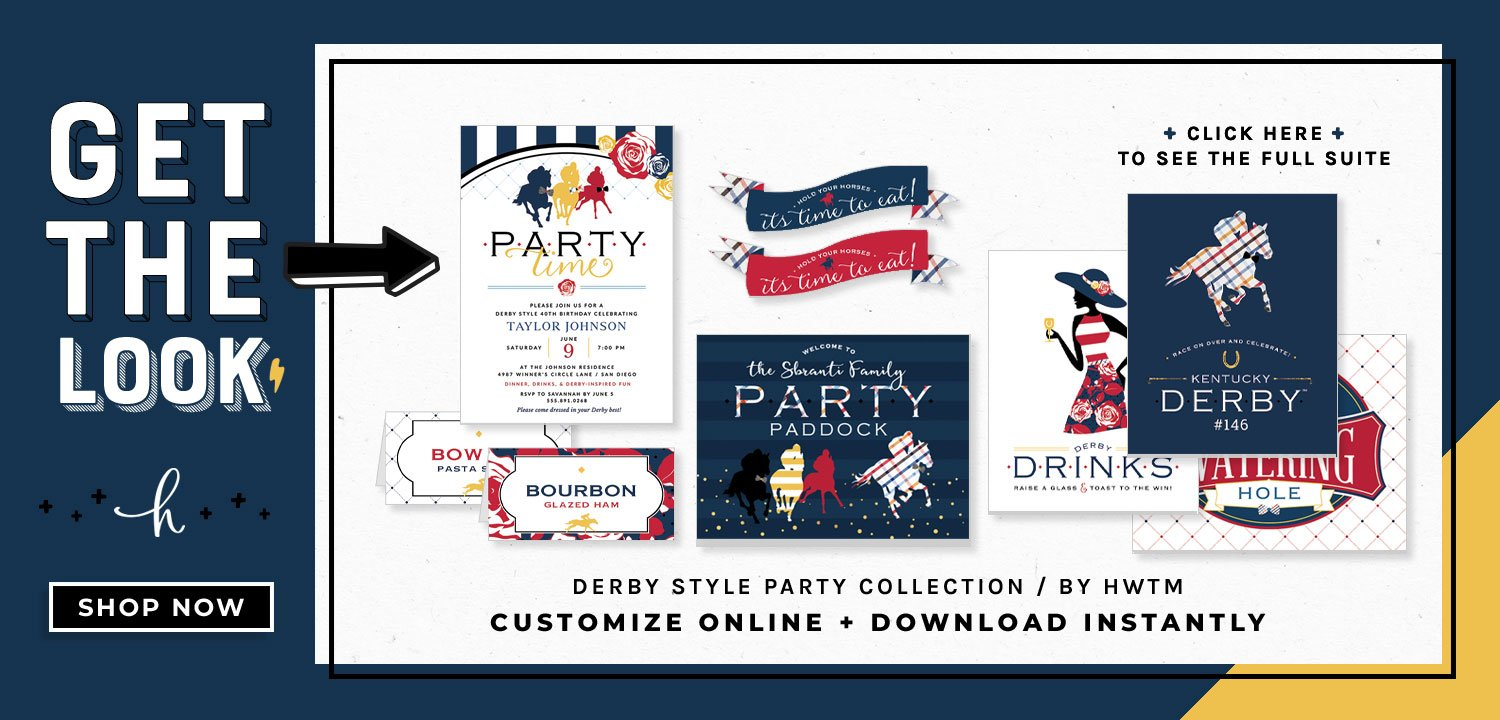 Derby Style Printables