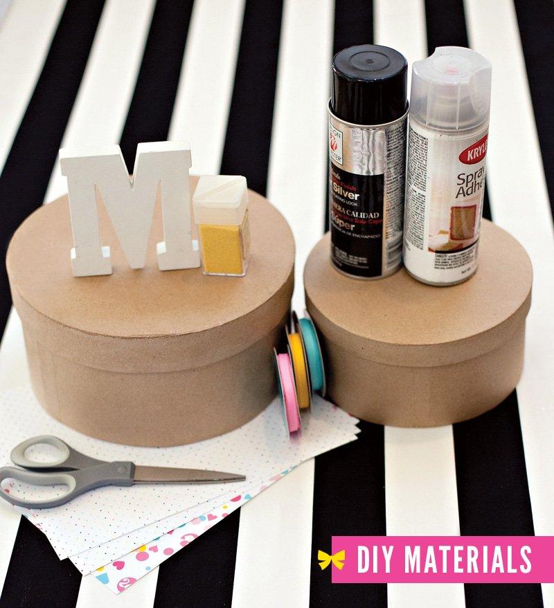 Barbie Centerpiece - DIY Materials