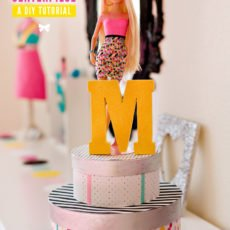 Barbie Birthday Party Centerpiece Idea