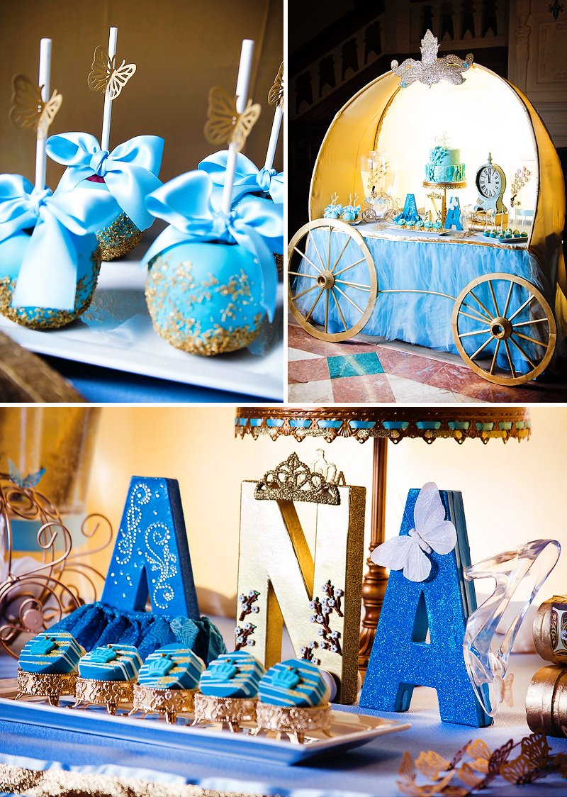 Modern & Magical Cinderella Party {Movie Inspired