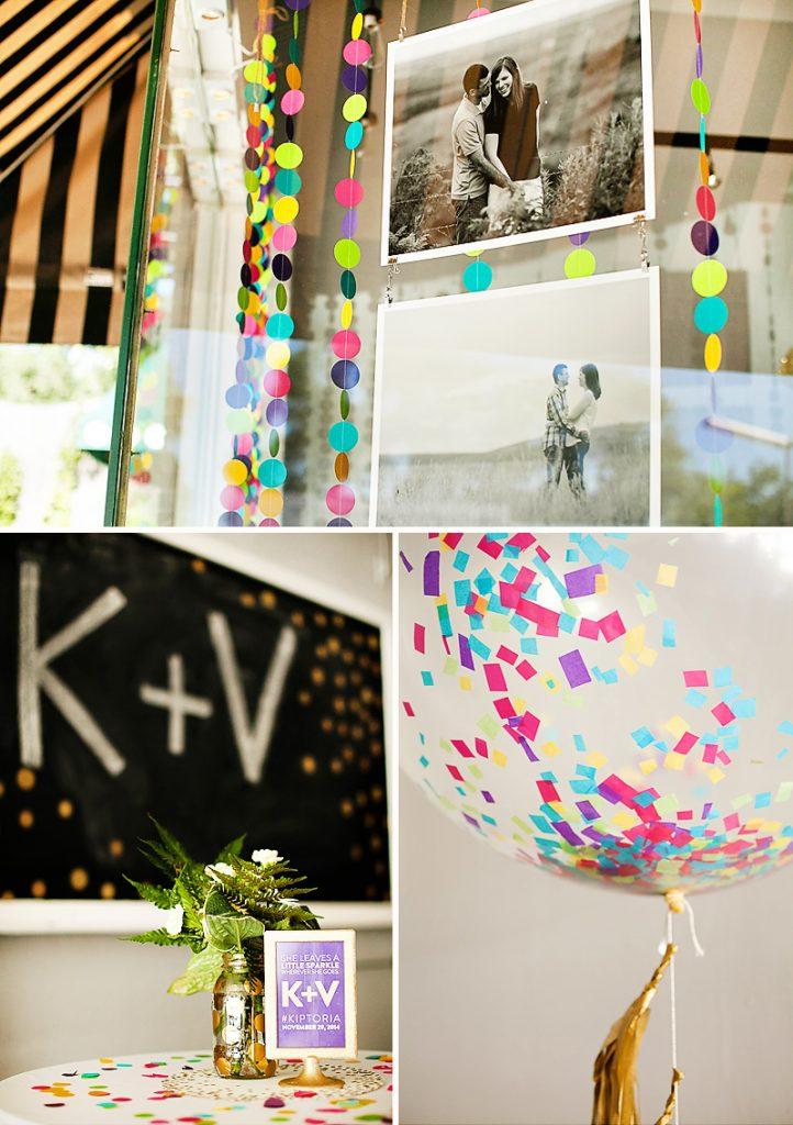 confetti bridal shower