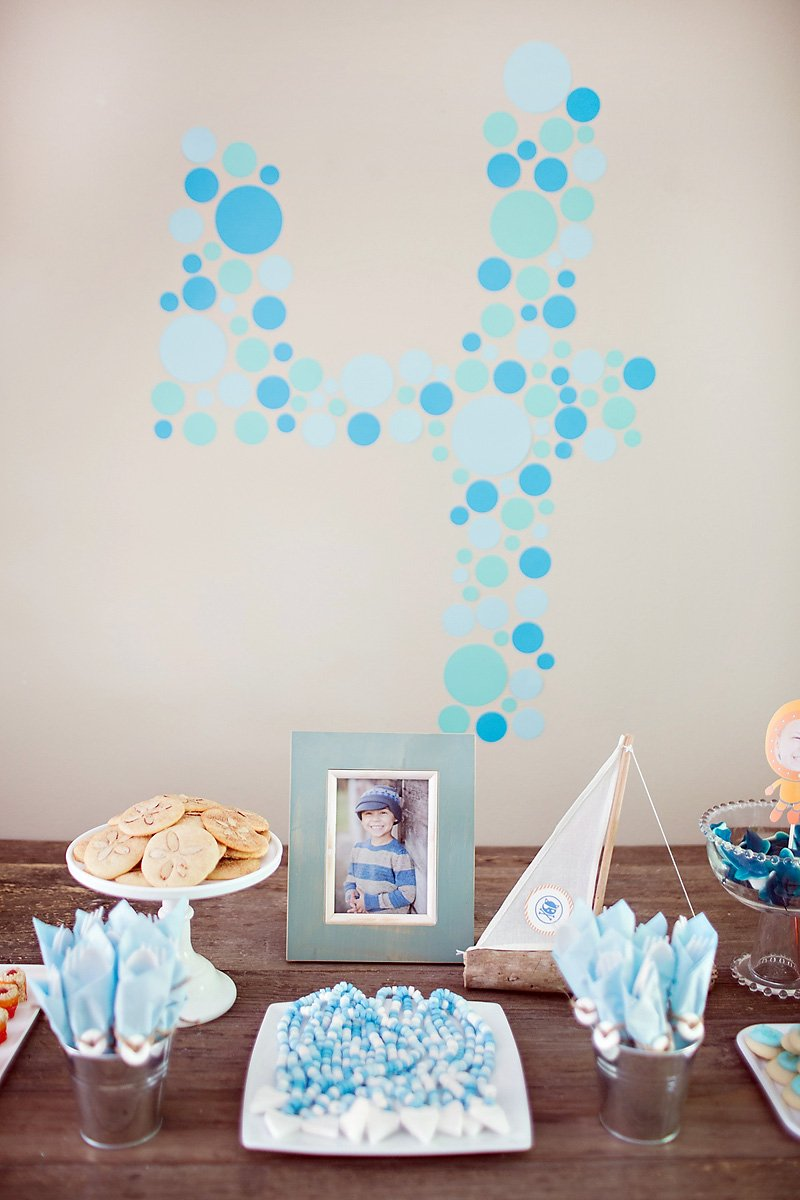diy paper bubble wall decal