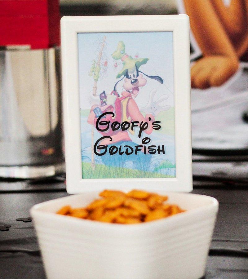 goofy goldfish
