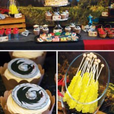 how to train your dragon dessert table