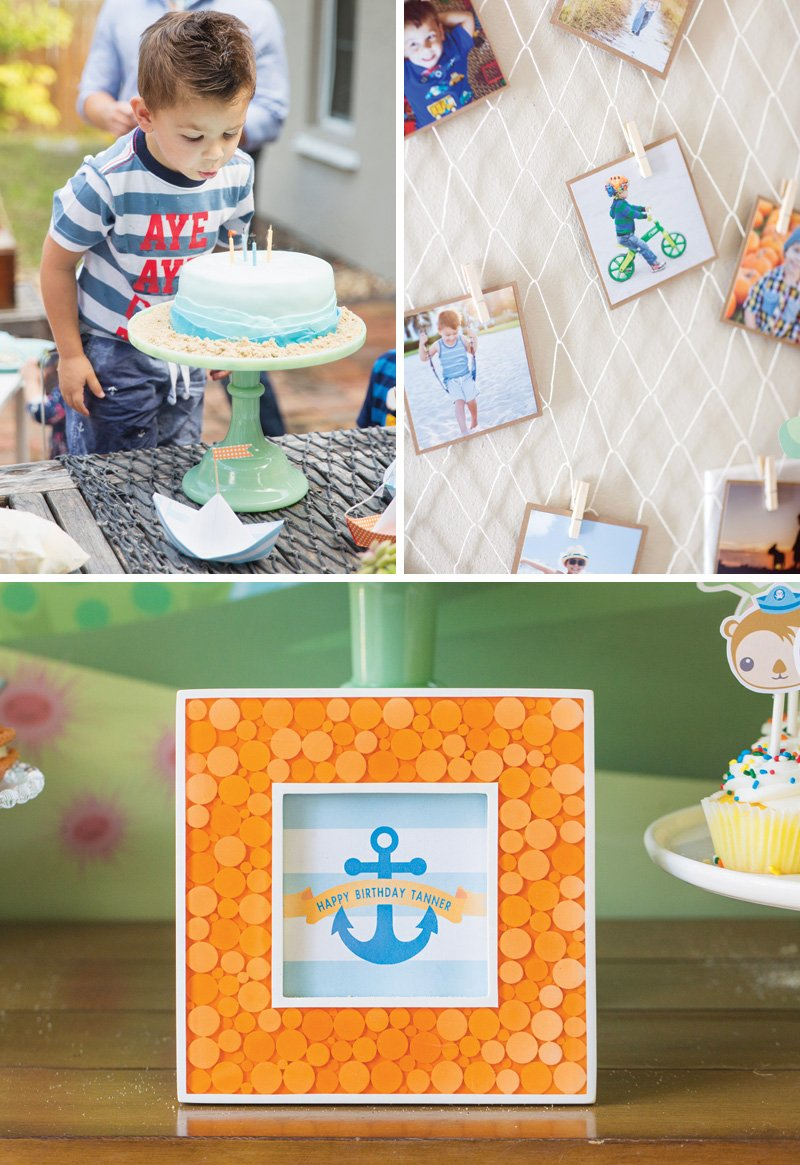 kid's under the sea themed party ideas
