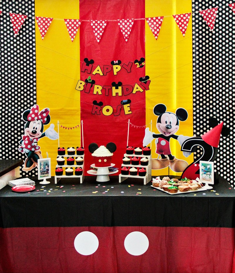 CHEER Ful Mickey Mouse Clubhouse Birthday Party Hostess With The & Amusing Mickey Mouse Table Set Ideas - Best Image Engine - tagranks.com