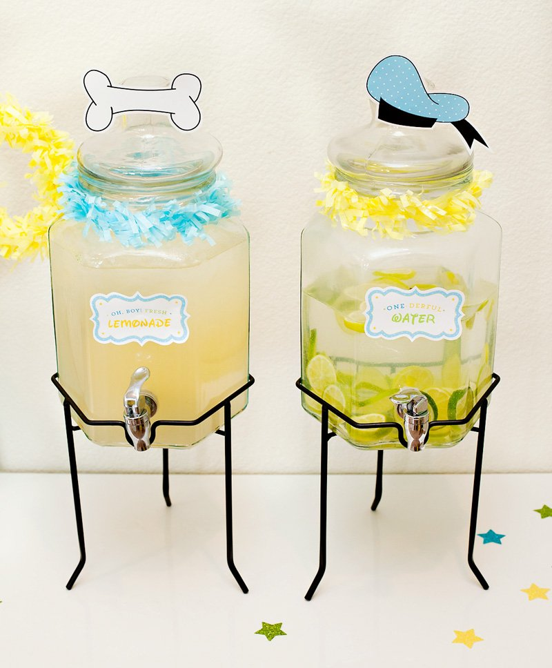 Mickey Mouse Party Drinks