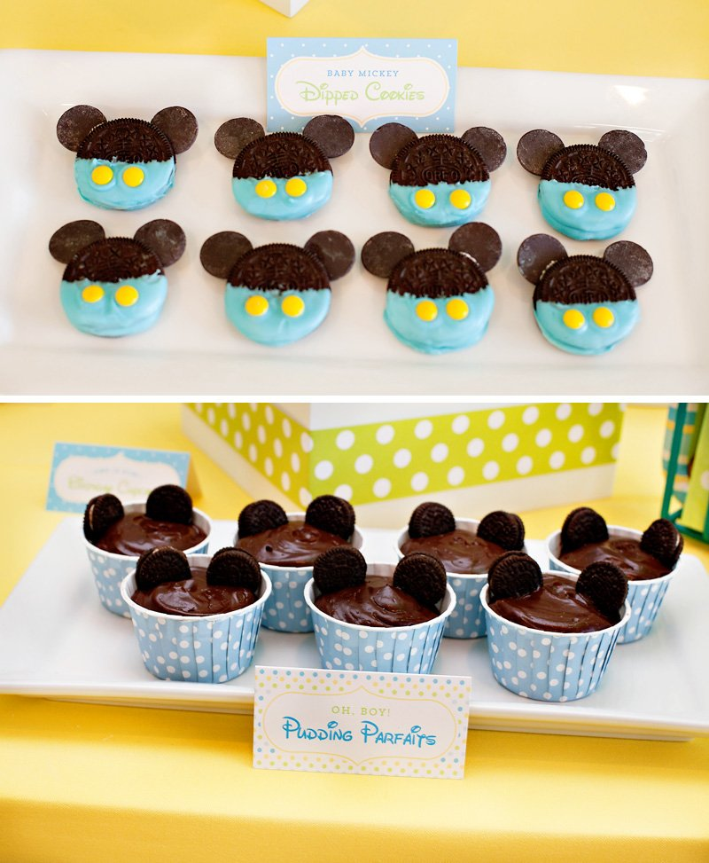 Peachy Creative Mickey Mouse 1St Birthday Party Ideas Free Printables Funny Birthday Cards Online Alyptdamsfinfo