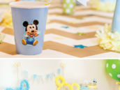 Mickey Mouse Birthday Drink Station