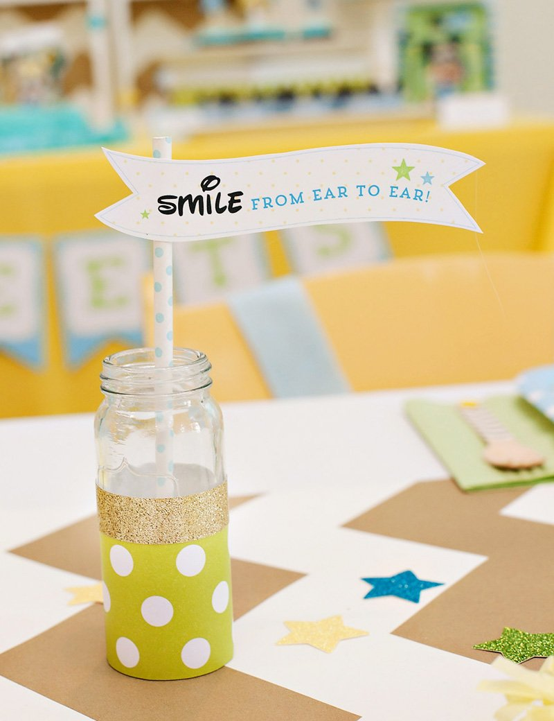 Smile from Ear to Ear sign
