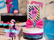Monster High Birthday Party Centerpiece Idea