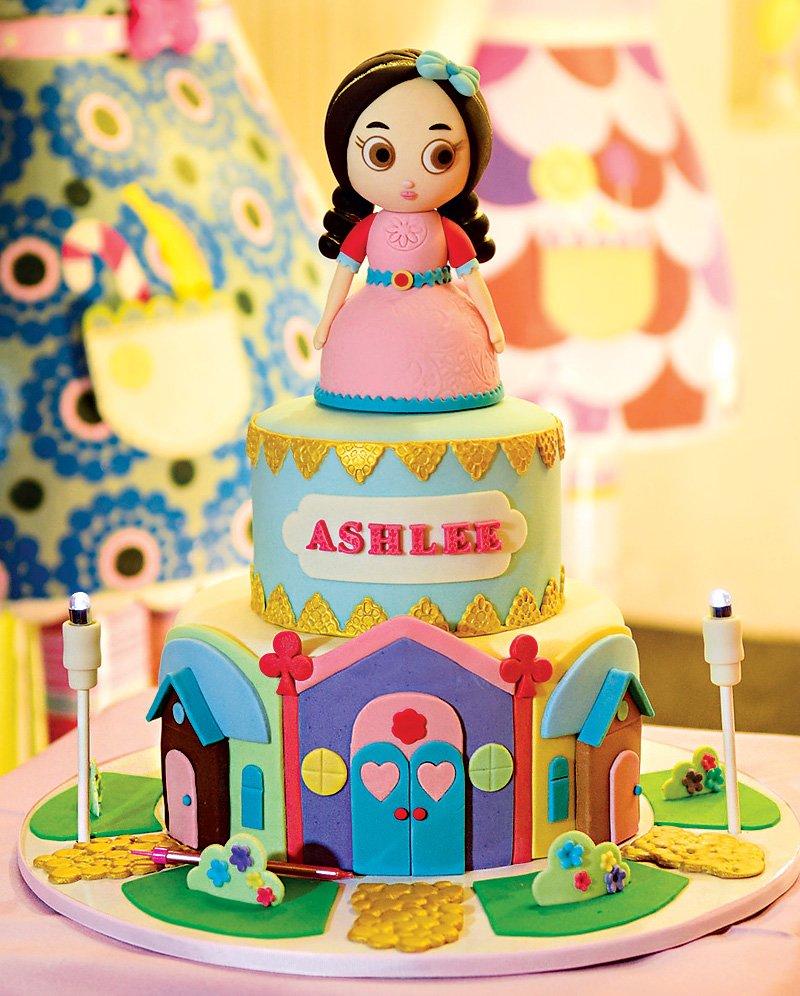 Sweet Girly Mooshka Dolls Inspired Birthday Party Hostess With