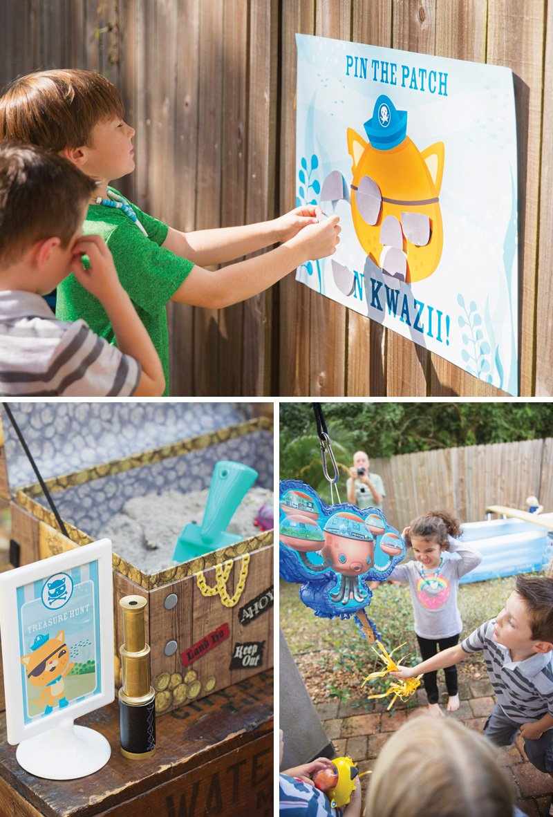 octonauts birthday party games
