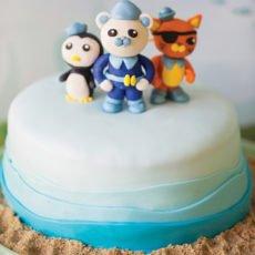 diy octonauts cake toppers