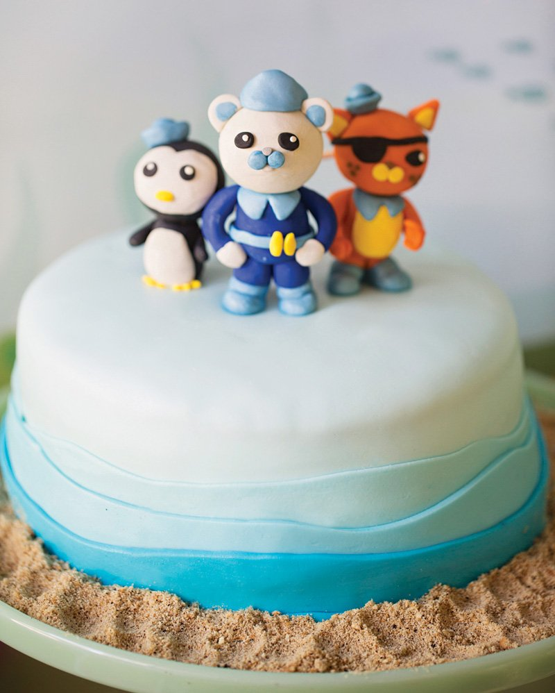 diy octonauts cake toppers
