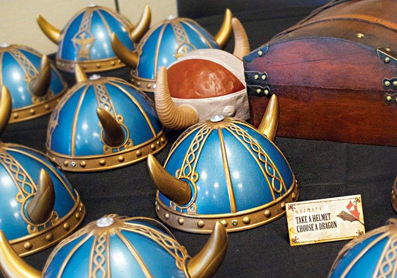 viking helmet party favors