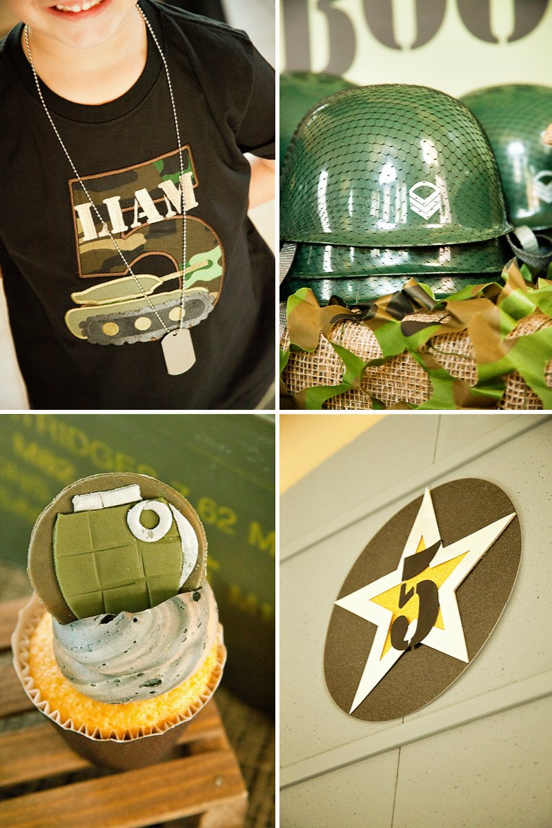 The gallery for military farewell party ideas for Army party decoration ideas