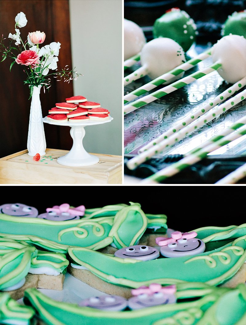 a pin cake mostess chic baby the two decorations crafty and decor in peas with pod pop hostess babies shower