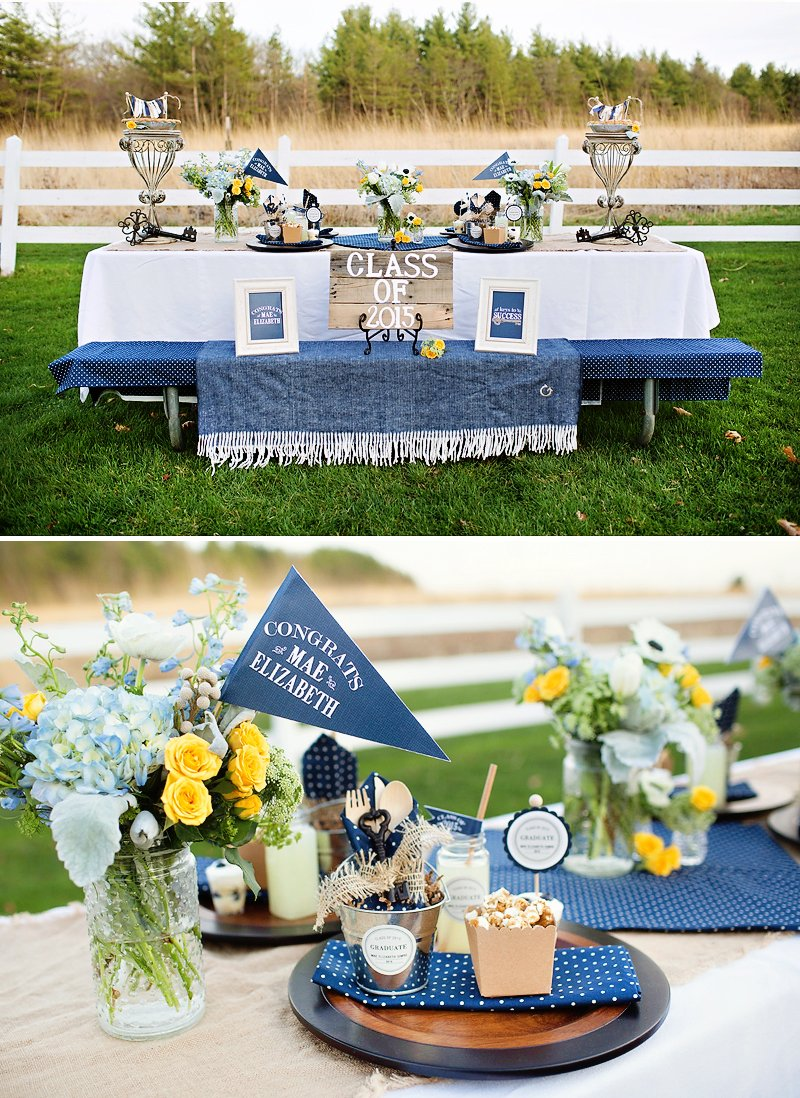 """Lovely & Rustic """"Keys to Success"""" Graduation Party ..."""