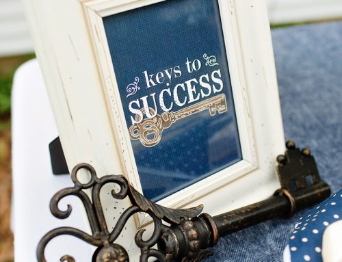 """Lovely & Rustic """"Keys to Success"""" Graduation Party"""