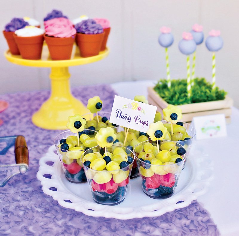 Garden Party Fruit Cups