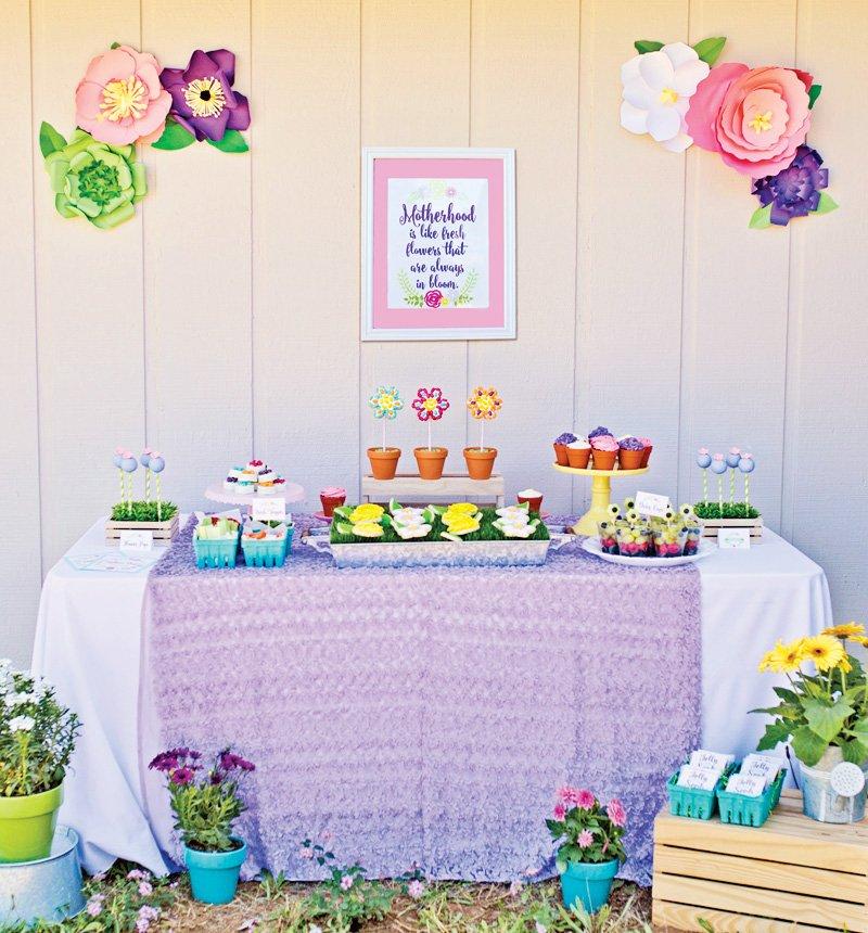 Gardern Party Dessert Station