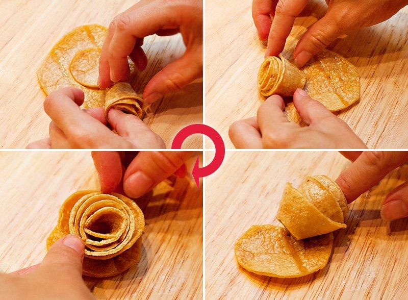 Rose Chips Tutorial - 6