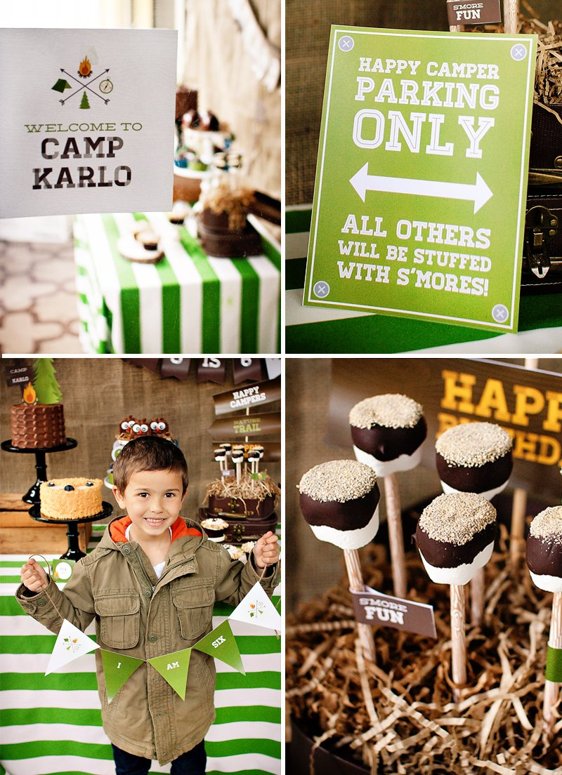 camp out birthday