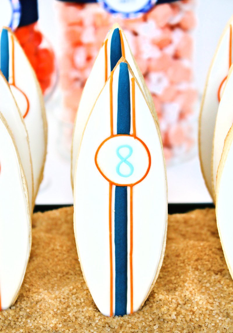 preppy surf party