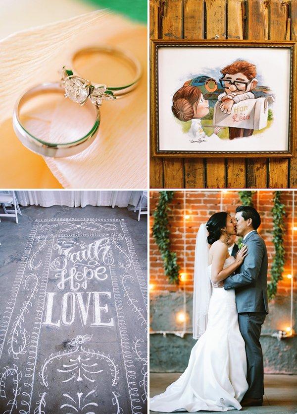 up themed wedding