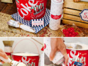 coke float drink station