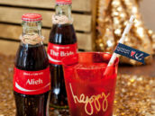 #ShareaCoke Nautical Bridal Shower Drinks