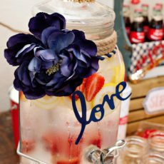 Nautical Bridal Shower Sea Water