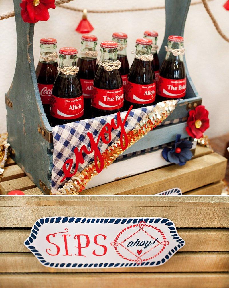 Custom Coke Bottles The Bride