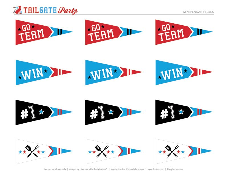tailgate party printables