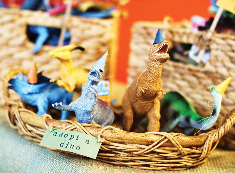 adopt a dinosaur party idea