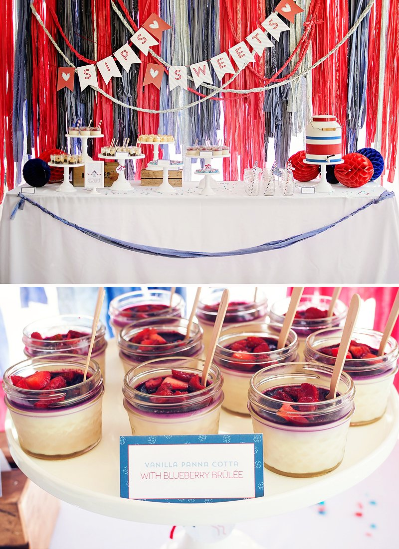 americana bridal shower