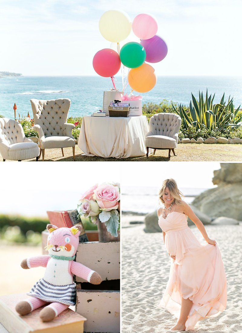 beachside baby shower