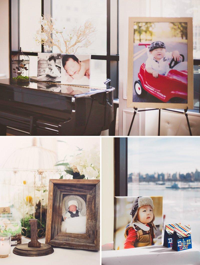 rustic korean dol first birthday