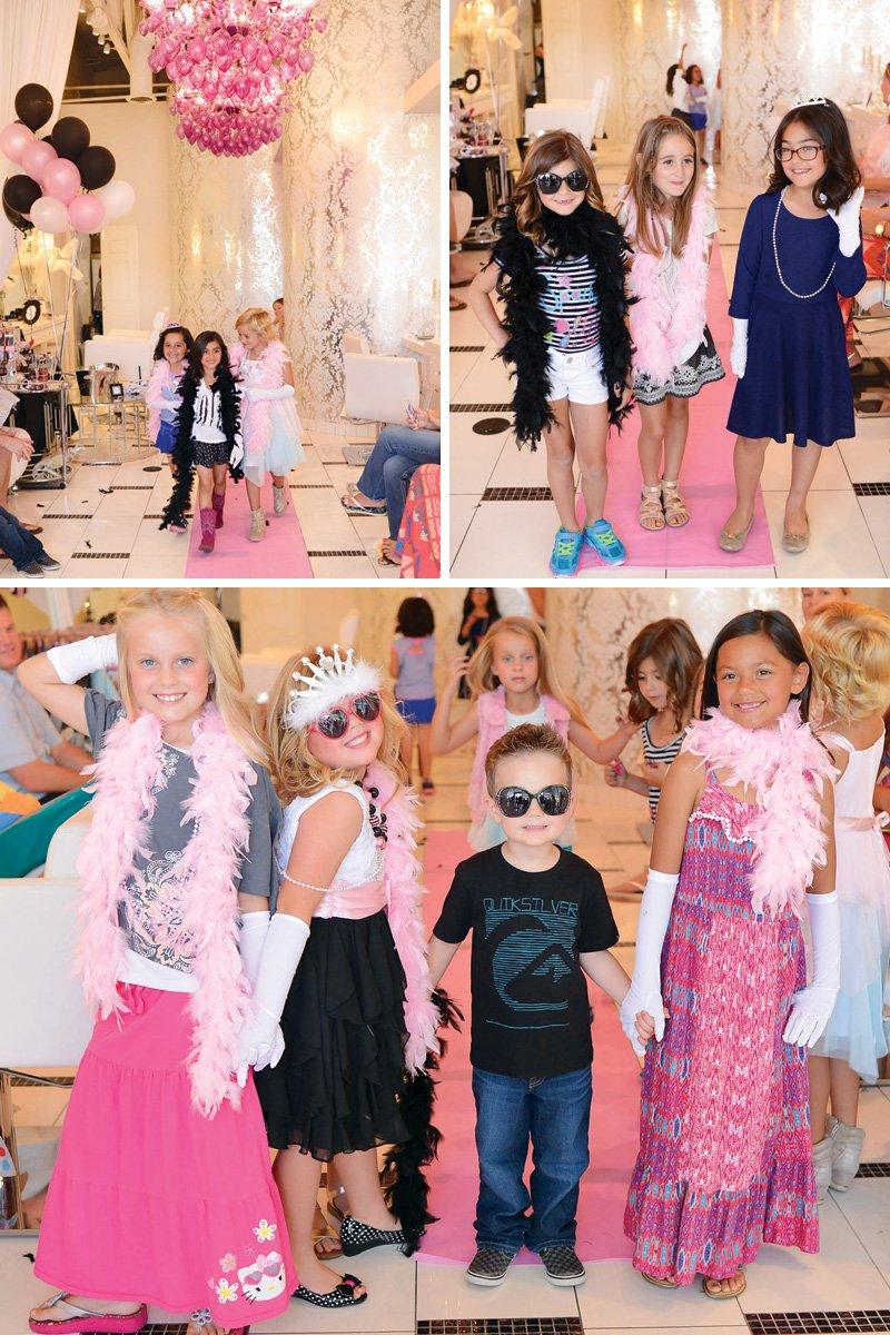 birthday party fashion show catwalk
