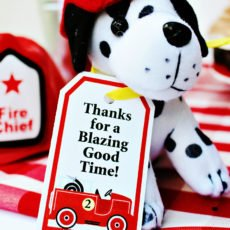 firetruck birthday party