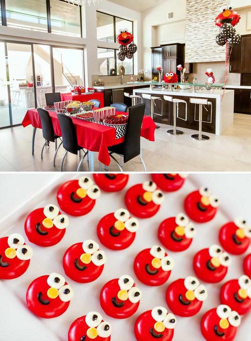chef elmo kitchen birthday party