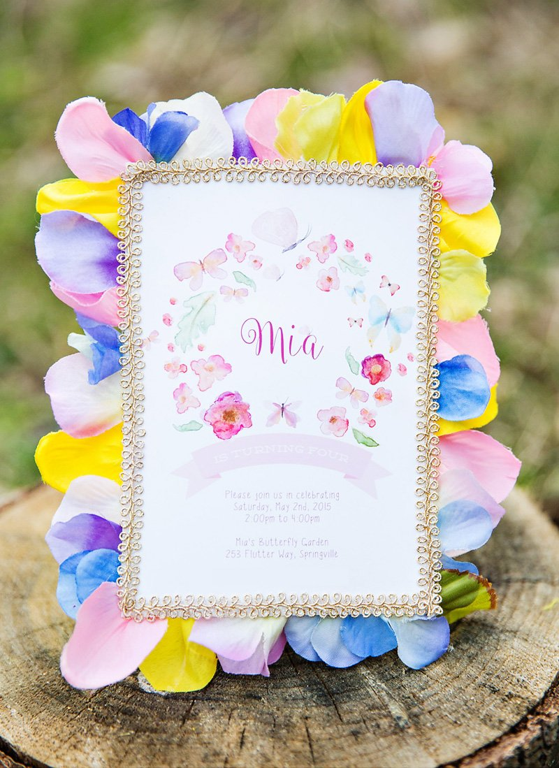 Magical Elegant Butterfly Garden Tea Party Hostess With The