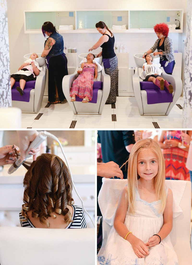 little girls birthday party makeovers