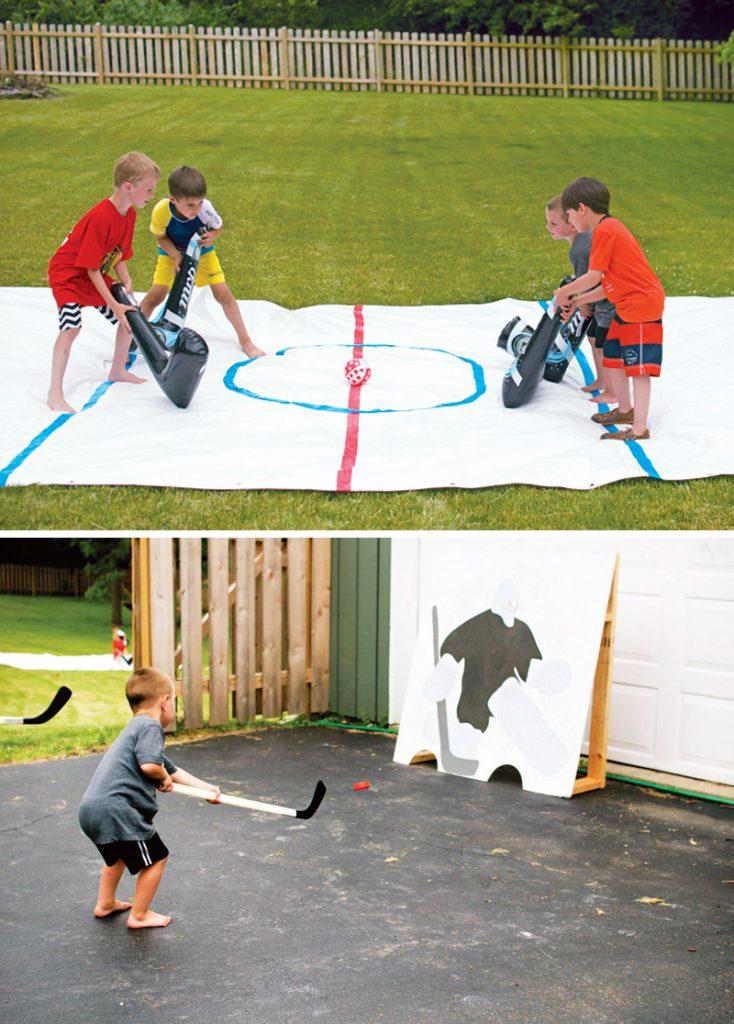 hockey birthday party game ideas