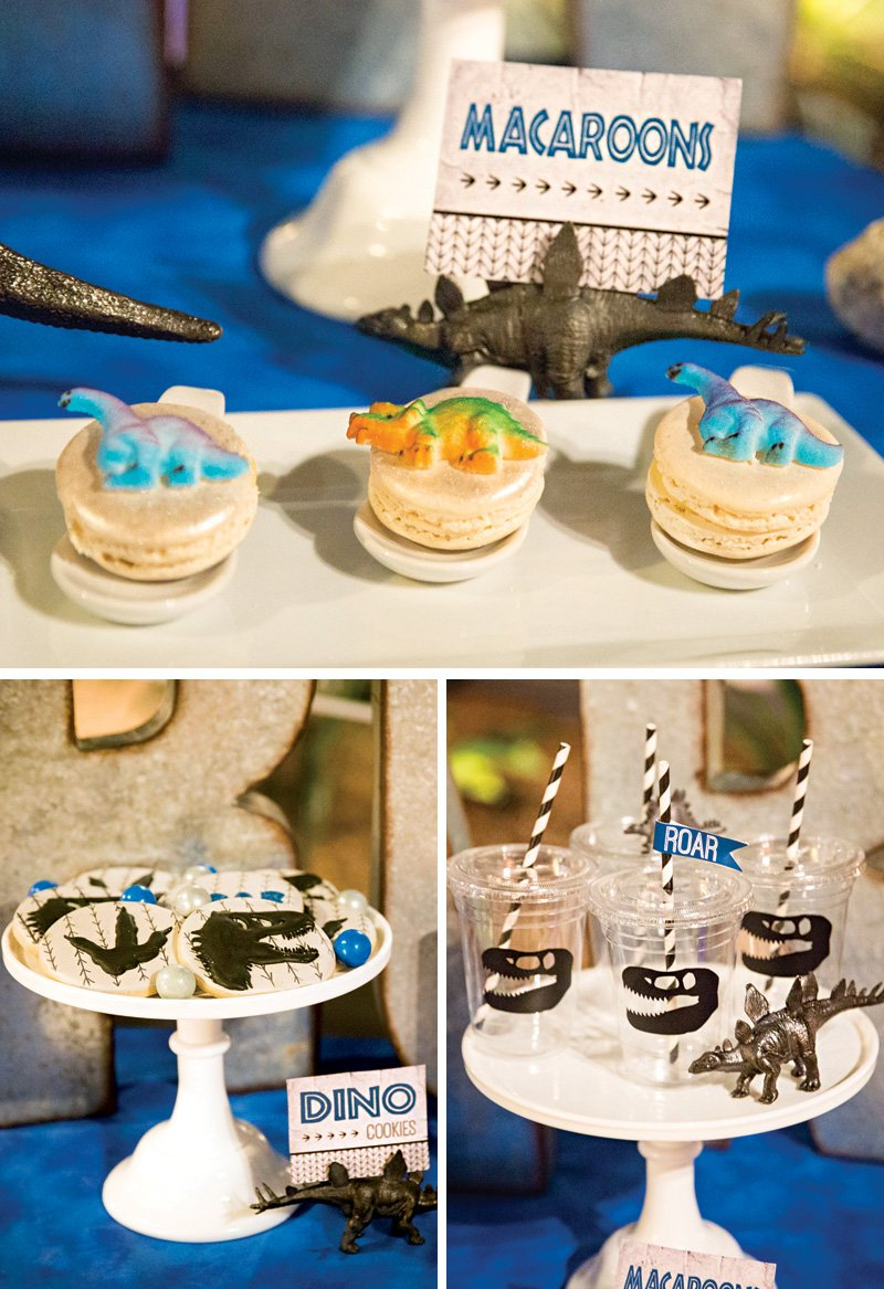 jurassic park birthday party desserts