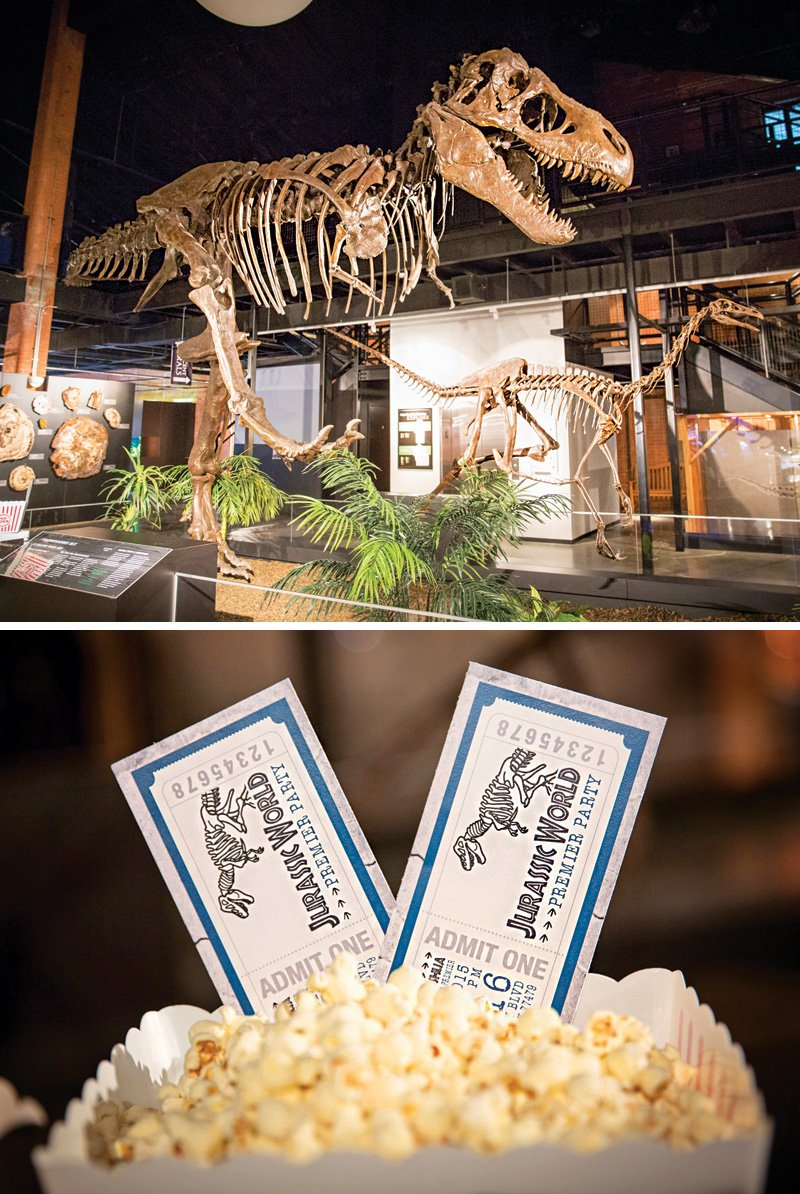 jurassic world movie premiere party